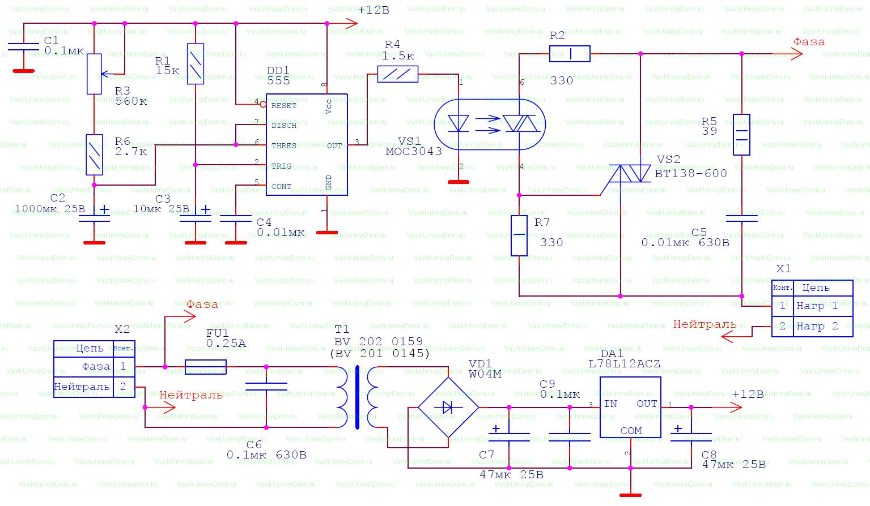 Relai Waktu Sederhana Dengan Start Tertunda Tempat Untuk Membeli Solid State Relay Circuit Diagram Gambar Skema Rangkaian Elektronika Kami Lanjutkan Prinsip Pengoperasian
