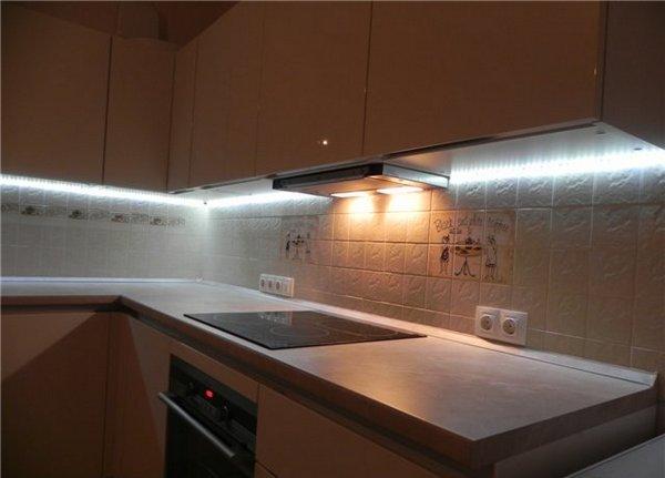 Listwa Led W Kuchni Organizacja Oświetlenia Fartucha