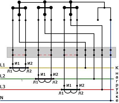 Схема подключения эл тока фото 605