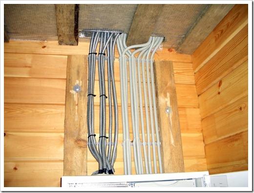 Elektrischer Draht für die interne Verdrahtung in der Hütte. Öffnen ...