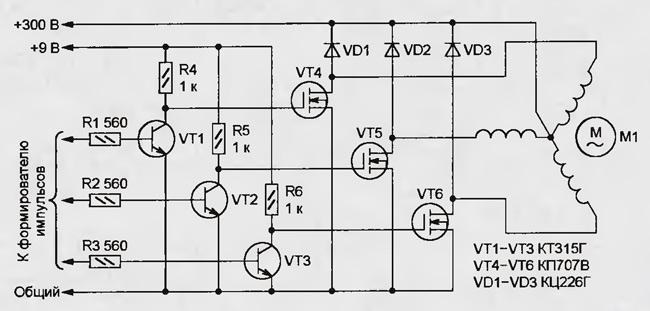 Частотный регулятор оборотов двигателя своими руками 13