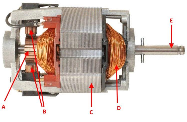 Schema Elettrico Motore Lavatrice : Motore di lavatrice alimentato a v e a v youtube