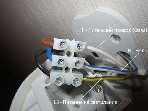 Schema Collegamento Lampada Con Sensore Di Movimento : Come collegare una lampada con un sensore di movimento. regola il