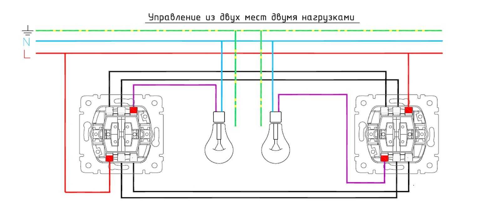 Legrand проходной выключатель схема фото 981