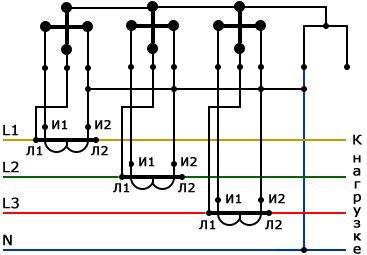 Схема подключения эл тока фото 254