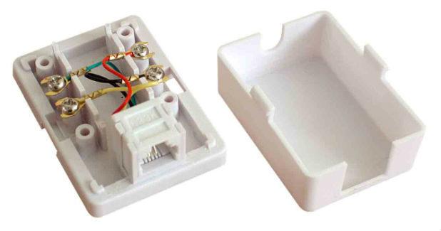 Schema Collegamento Presa Telefonica Rj11 : Collegamento della presa telefonica legrand rj 11. presa legrand